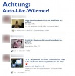 Facebook Virus mit dsds fake